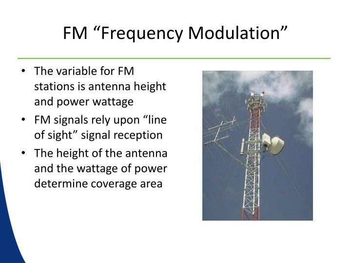 "FM ""Frequency Modulation"""