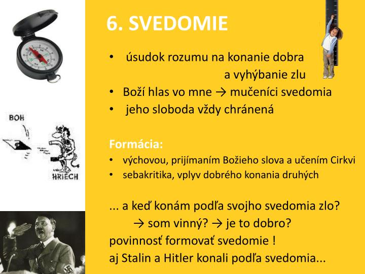 6. SVEDOMIE