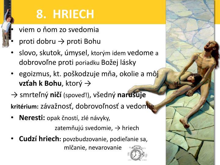 8.  HRIECH
