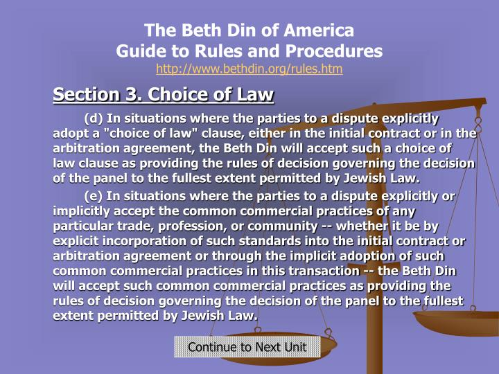 The Beth Din of America