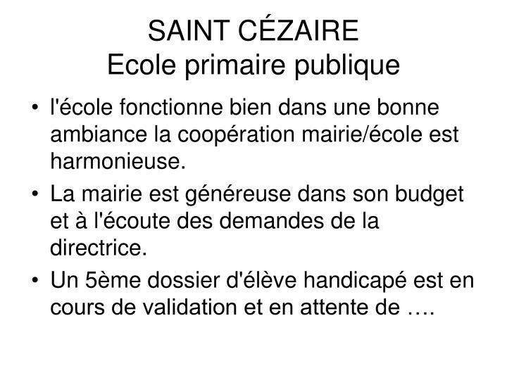 SAINT CÉZAIRE