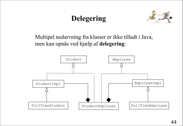 Delegering
