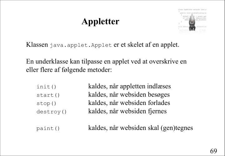 Appletter