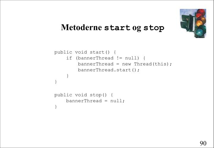 Metoderne