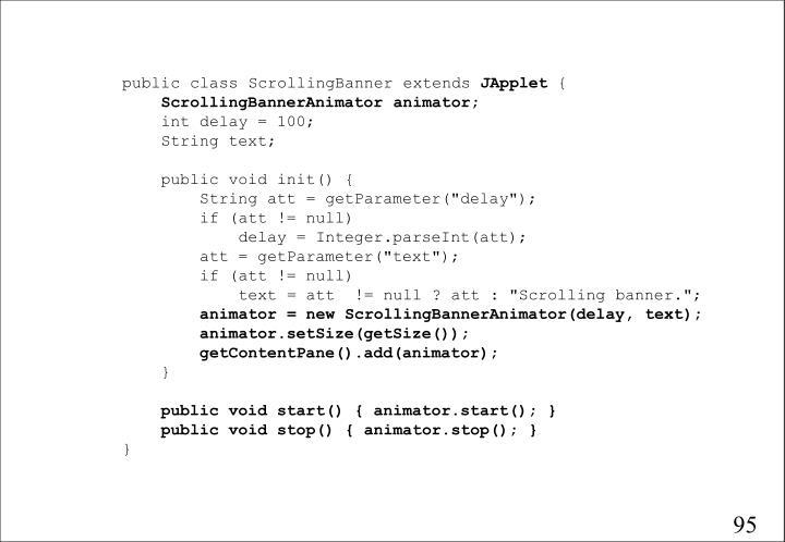 public class ScrollingBanner extends