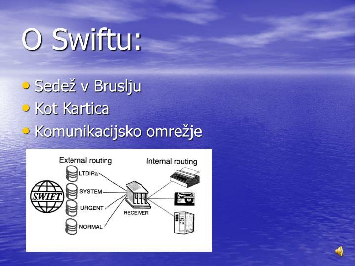 O Swiftu: