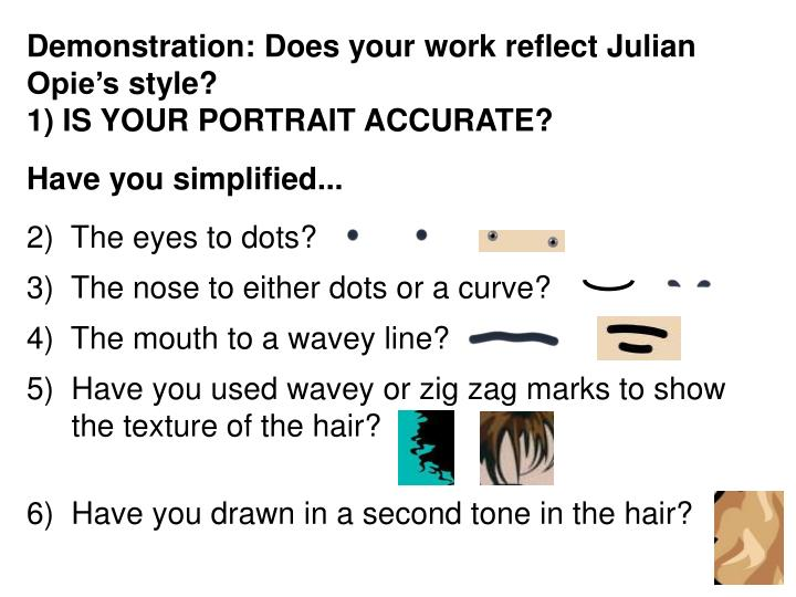 Demonstration: Does your work reflect Julian
