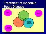 treatment of ischemic heart disease