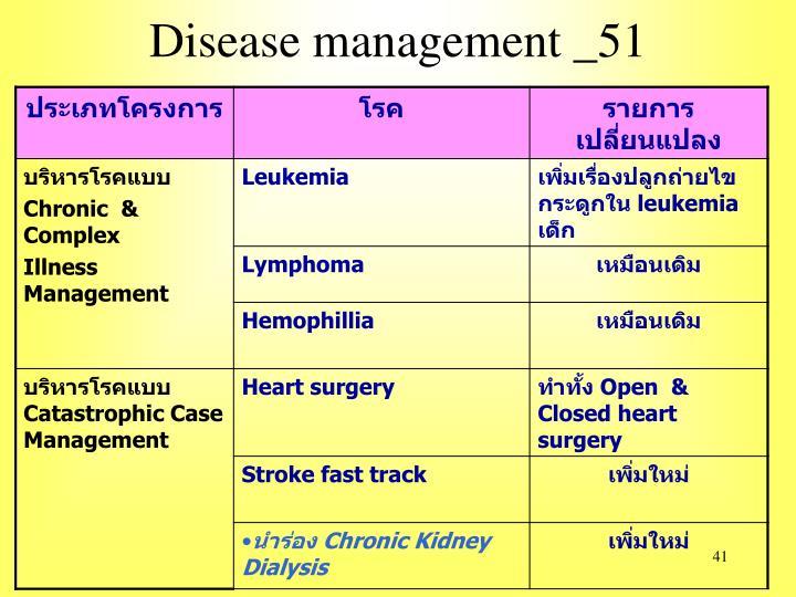 Disease management _51