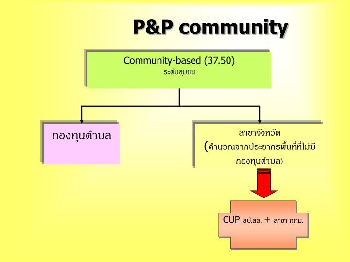 P&P community