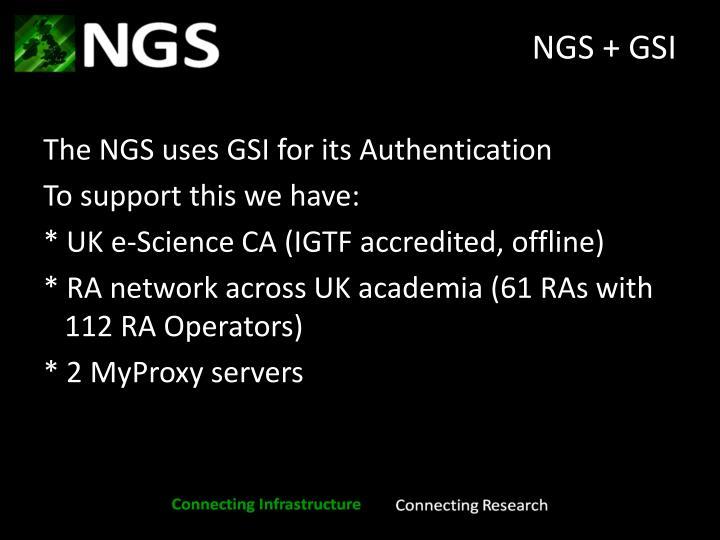 NGS + GSI