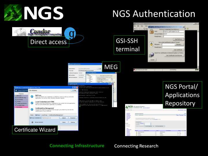 GSI-SSH terminal