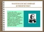 matematick zdroje kybernetiky1