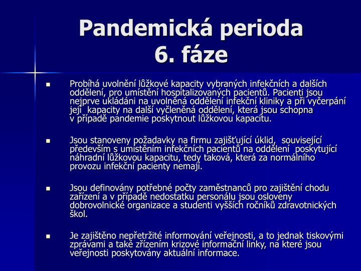 Pandemická perioda