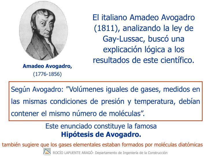 Amadeo Avogadro,