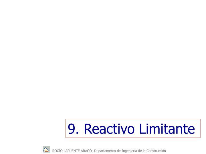 9. Reactivo Limitante