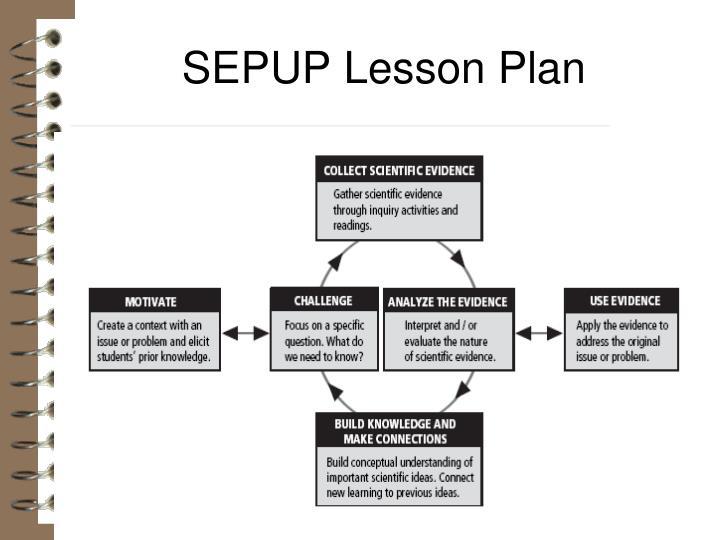 SEPUP Lesson Plan