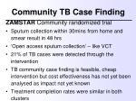 community tb case finding1