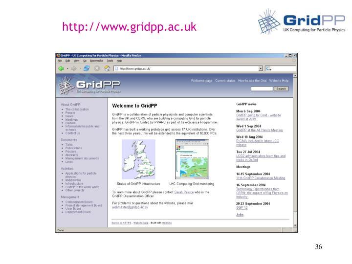 http://www.gridpp.ac.uk