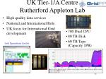 uk tier 1 a centre rutherford appleton lab