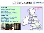 uk tier 2 centres