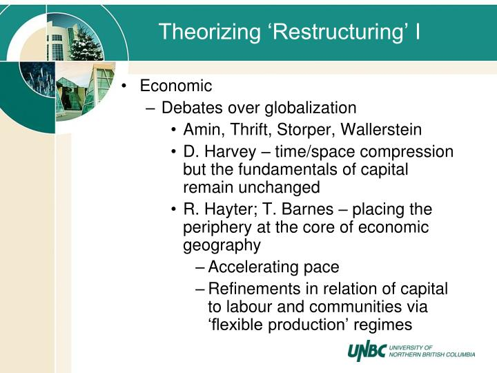 Theorizing 'Restructuring' I