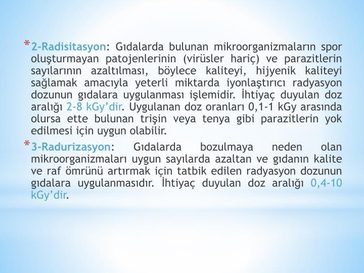 2-Radisitasyon