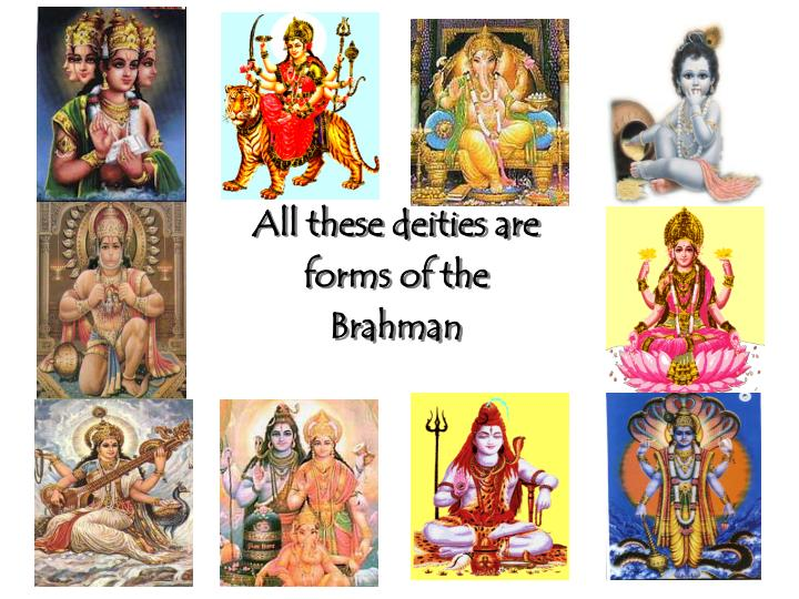 All these deities are