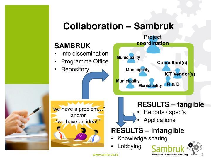 Collaboration – Sambruk