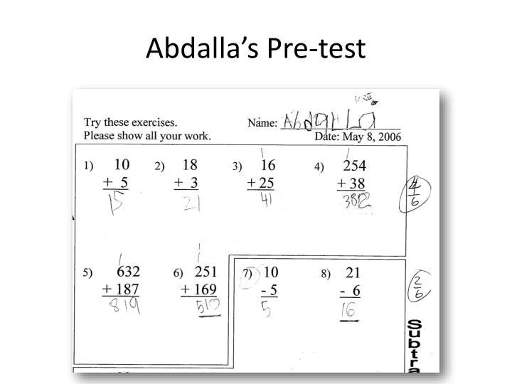 Abdalla's