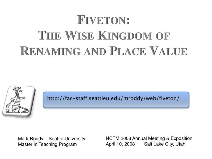 Fiveton