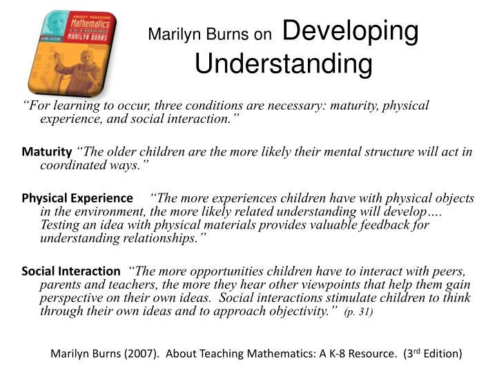 Marilyn Burns on