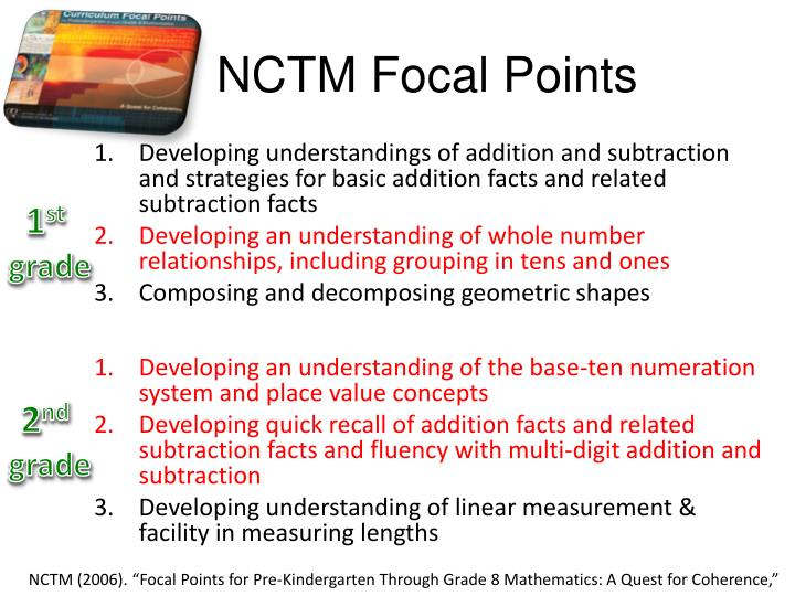 NCTM Focal Points