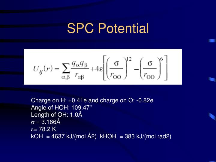 SPC Potential