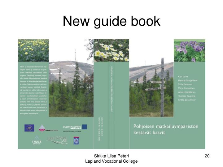 New guide book