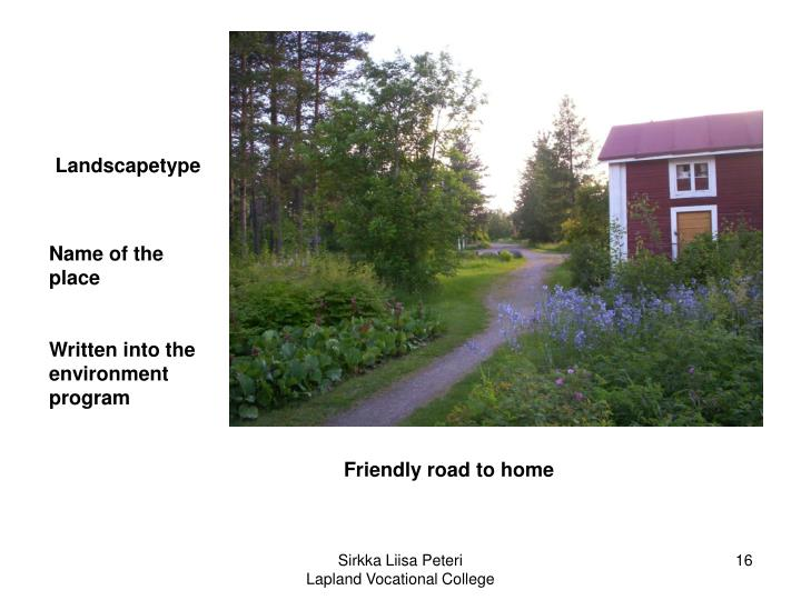 Landscapetype