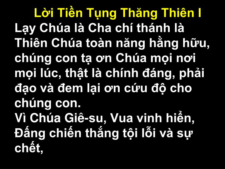 Li Tin Tng Thng Thin I