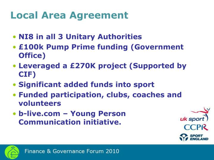 Local Area Agreement