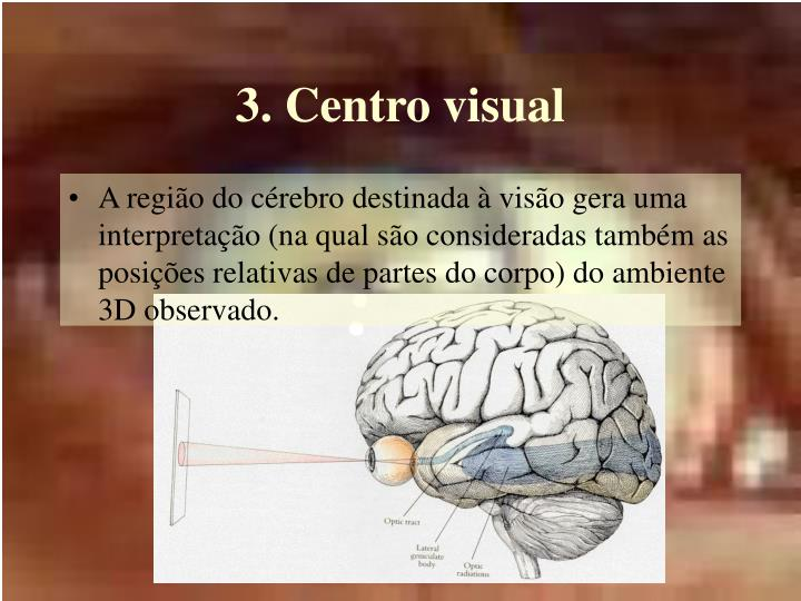 3. Centro visual