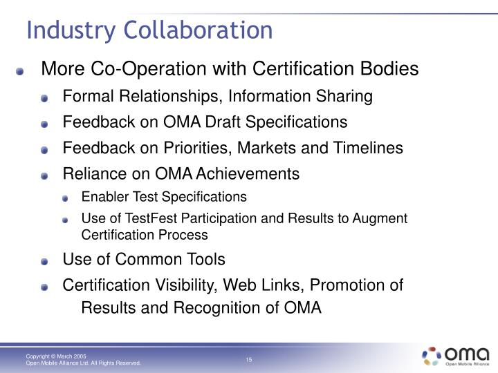 Industry Collaboration