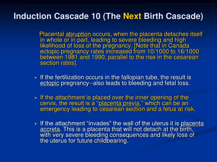 Induction Cascade 10 (The