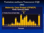 variation surfaces vancouver cqi 1993