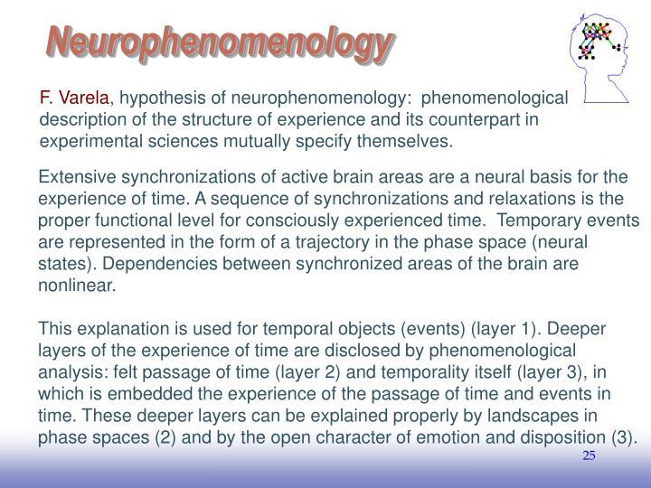 Neurophenomenology
