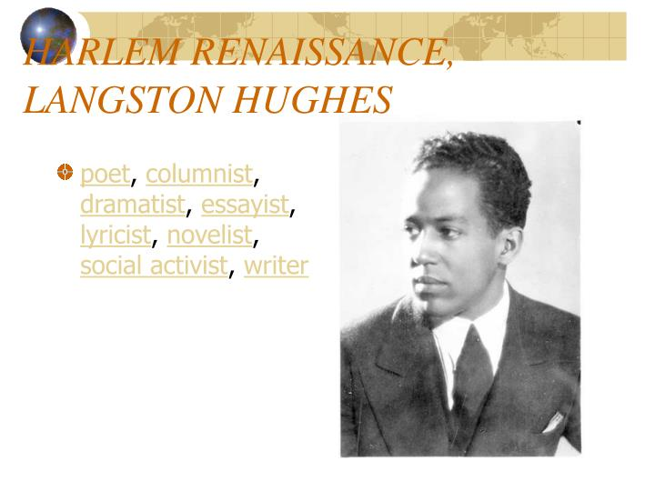 the imagery of langston hughess harlem essay