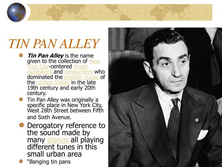 Tin Pan Alley
