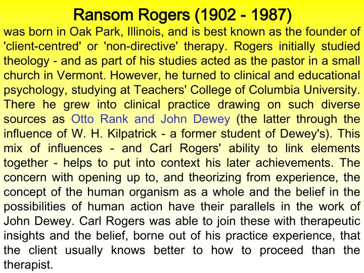 Ransom Rogers (1902 - 1987)