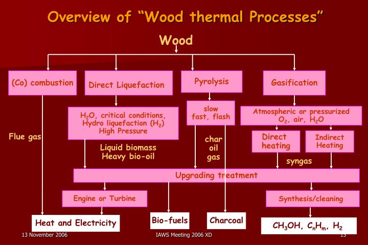 "Overview of ""Wood thermal Processes"""