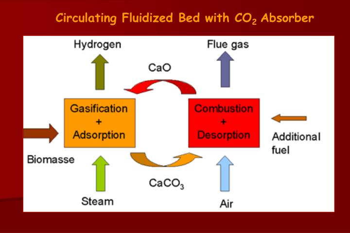 Circulating Fluidized Bed with CO