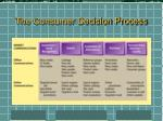 the consumer decision process