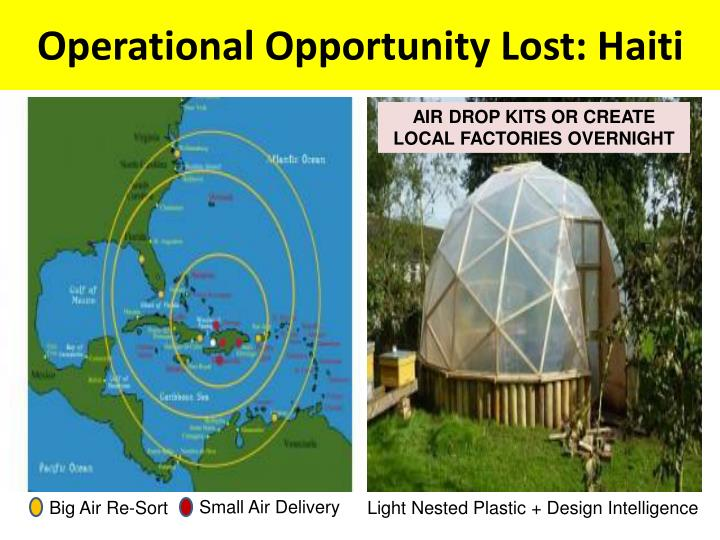Operational Opportunity Lost: Haiti
